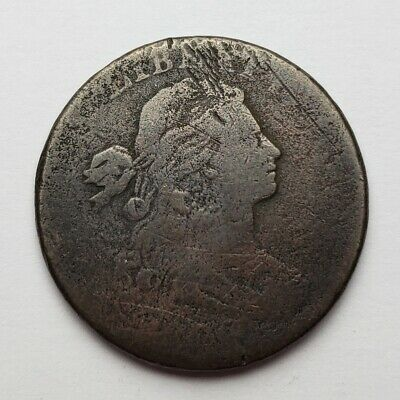 1800 Draped Bust Large Cent Weak Date / No Date