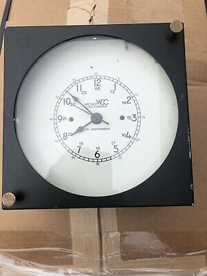 Waltham Clock Company Military Chronometer US GOVERNMENT, Parts Or Repair