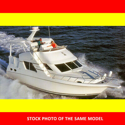 NO RESERVE 1997 43' Silverton 392/372 Twin Crusaders Generator A/C, stored in MA