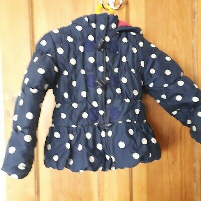 Blue Zoo  fleece lined jacket age 5-6 years #look##