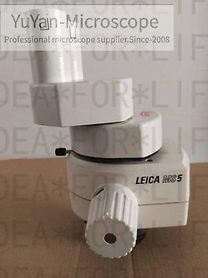 LEICA MS5 STEREO MICROSCOPE BODY HEAD with 0.5x Objective 10422563 #free ship