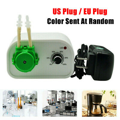 Small Dosing Pump 110V-240V Peristaltic Pump Flowing Adjustable 2.6-65ML/MIN Hot