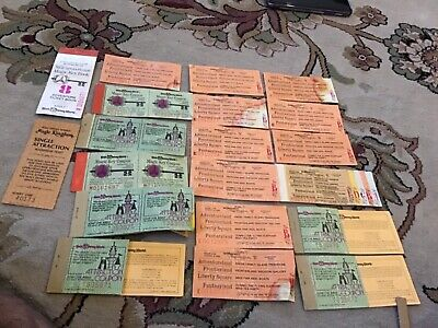 1980 Walt Disney tickets