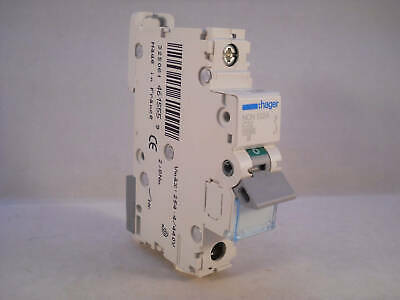 Hager MCB 32 Amp Single Pole Circuit Breaker Type C 32A C32 NCN132A