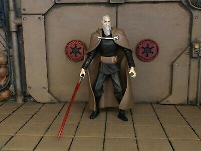 Loose Star Wars The Clone Wars Sith Lord Count Dooku