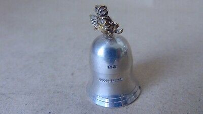 Beautiful Sterling Silver Screw Lid Tooth Fairy Box