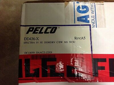 Pelco DD436-X 36x Zoom Lens Day Night Dome Drive for Spectra IV SE NTSC Version