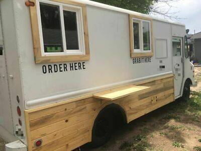 Vintage 1976 Chevrolet P-30 Step Van Coffee Truck / Ready to Roll Mobile Cafe fo