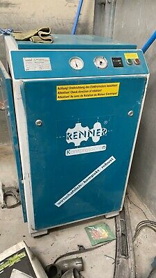 Renner Industrial Screw Cabinet Air Compressor