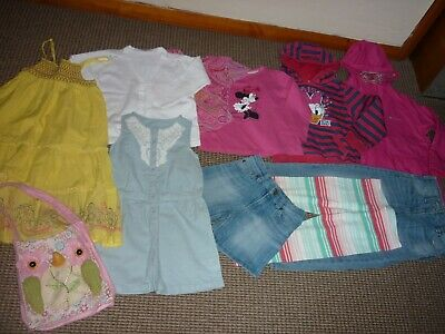 Bundle Girls Clothes age 5-6yrs Rain Coat Shorts Tops Dress Cardi Jeans Sweater