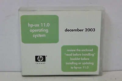 Hp 5187-4495 Hp-Ux 11.0 Operating System Hp 9000 Enterprise Servers