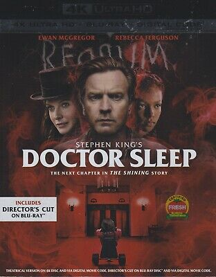DOCTOR SLEEP 4K ULTRA HD & BLURAY & DIGITAL SET with Ewan McGregor &Stephen King