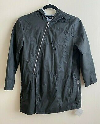 RRP £148 * CHRISTIAN DIOR * Girls Boys Designer Raincoat Jacket * Black * Age 10