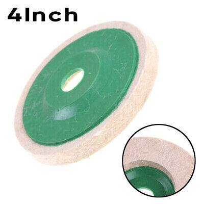 Round Wool Buffing Pad Polishing Wheel Felt Buffer Disc Angle Grinder Attachment
