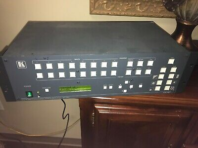 Kramer VP-727 Universal Presentation Matrix Switcher/Scaler from a church