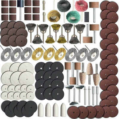 340 Pieces Rotary Tool Accessory Set Fit Grinding Sanding Polishing Spare Parts
