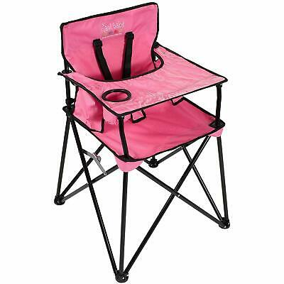 ciao baby Portable Travel Highchair, Pink