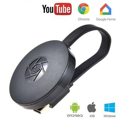 Para Chromecast G6 Video WiFi TV HD 1080P Dongle Airplay Pantalla HDMI Receptor