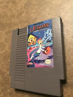 Jetsons: Cogswell's Caper (Nintendo, NES) Authentic cart -- Tested