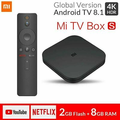 Xiaomi Mi Box S 4K HDR Android TV Streaming Media Player Google Assistant Globa