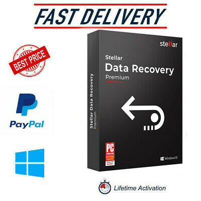 Stellar Data Recovery 9 ✔️2020✔️Full Version✔️LifeTime License Key✔️Windows✔️