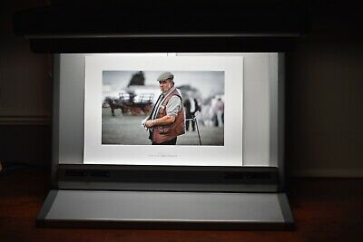 photographic print and slide viewer normlicht color match 5000 desktop lightbox