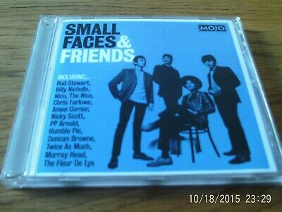 Small Faces & Friends - Mojo cd album - Nico - P.P.Arnold - Fleur De Lys +