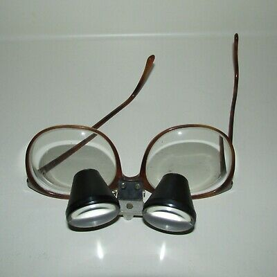 Vt. OCULUS Magnification LOUPES Flip Down Attached to Polo Glasses