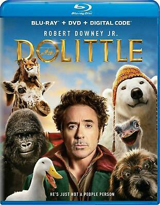 Dolittle - (Blu-ray Disc ONLY, 2020) No DVD No Digital