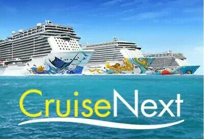 CruiseNext Certificates (2 X  $250) Good until Dec 2023.  Ready to transfer!