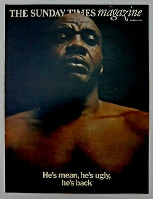 Sunday Times Magazine - 14 Dec 1969: 1960s, Don McCullin, Sonny Liston, WI