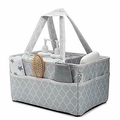 Baby Diaper Caddy Nappy Large Organizer Bag Portable Basket for Car Bedroom