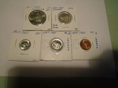 1867~1967 (Canadian Mint Set) With Out $1.00