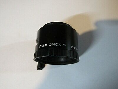 Schneider Componon-S 50mm f/2.8 enlarging lens - slightly hazey