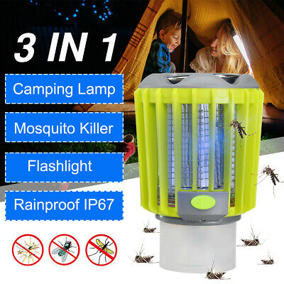 Electric Fly Bug Zapper Mosquito Insect Killer LED Light Trap Lamp Pest     9  i