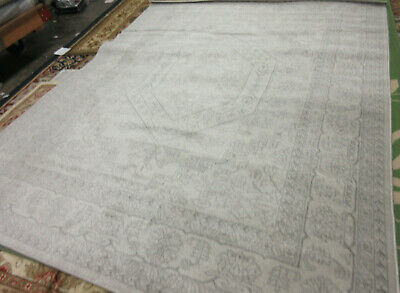 IVORY / SILVER 8' X 10' Hole in Rug Reduced Price 1172533996 ADR108B-8