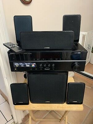 Yamaha HTR-2064 Receiver With NS-SWP20 5.1 Speaker System.