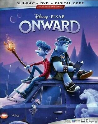 Onward Blu-ray (Disc Only) No Case 2020 Pixar Movie