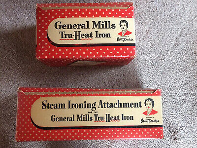 Vintage Tru Heat Iron And Steam Ironing Attachment General Mills Betty Crocker