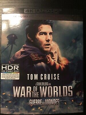 War of the Worlds 4k blu-ray/digital code