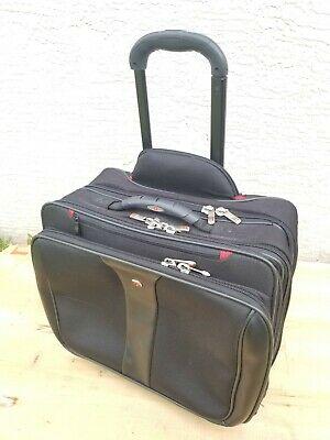 Wenger Swiss Gear Rolling Carry-On  Laptop Briefcase Wheeled Travel Bag