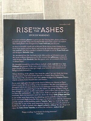 Owlcrate November 2018 Rise From The Ashes Exclusive Box