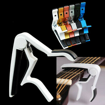 Key Clamp Trigger Quick Change Guitar Capo for Electric Classic Acoustic