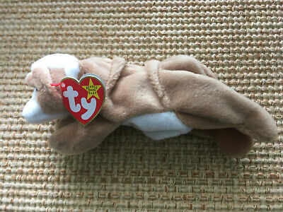 TY Beanie Baby WRINKLES the Bulldog Brand New 1st Class Shipping
