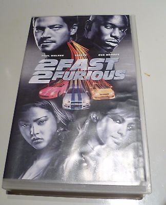 VIDEOCASSETTA VINTAGE FILM 2 Fast 2 Furious (2003) VHS