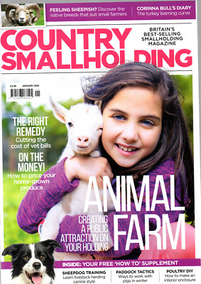 Joblot 4 Country Smallholding Magazines From 2020 Ex Clean Condition