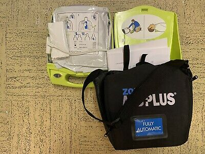 ZOLL AED , comesWith Alarm Box And Carrier Case, Pads And Batteries.