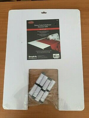 """Deluxe Simplicity Rotary Cutter & Embosser Extension Table 18"""" x 24"""""""