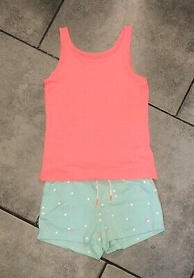Primark...H&M Girls Summer Outfit 6-7 Years (top is NEW)