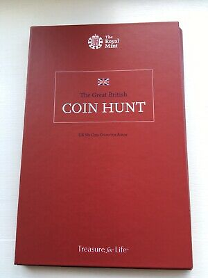 The Great British Coin Hunt UK 50p Collection Album Kew gardens 50 pence coin.